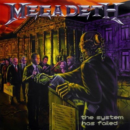 Megadeth - The System Has Failed: Remastered Vinyl LP - direct audio