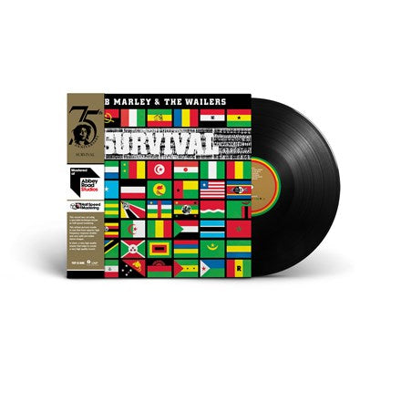 Bob Marley And The Wailers - Survival: Half Speed Master Vinyl LP - direct audio