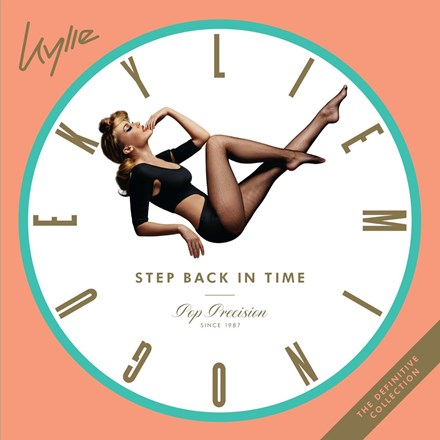 Kylie Minogue Step Back in Time: The Definitive Collection Colored Vinyl 2LP
