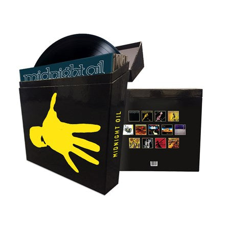 Midnight Oil - The Complete Collection Vinyl 11LP & 2EP Box Set
