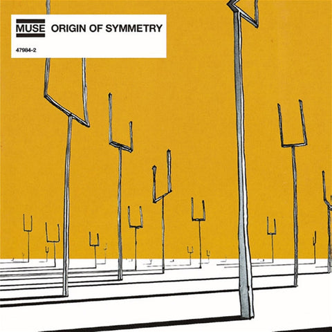 Muse - Origin Of Symmetry on Vinyl 2LP - direct audio