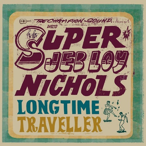 Jeb Loy Nichols - Long Time Traveller Vinyl LP + Download (Special Order) - direct audio