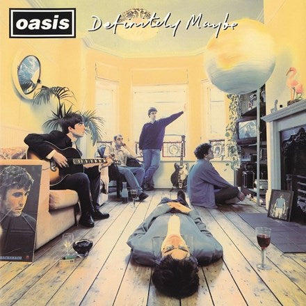 Oasis - Definitely Maybe on Vinyl 2LP + Download w/ 33 Bonus Tracks - direct audio