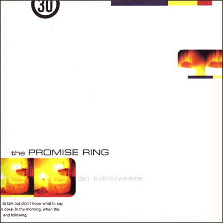 The Promise Ring - 30 Degrees Everywhere Colored Vinyl LP (Backordered) - direct audio