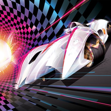 Michael Giacchino Speed Racer: Original Motion Picture Soundtrack 180g Vinyl 2LP