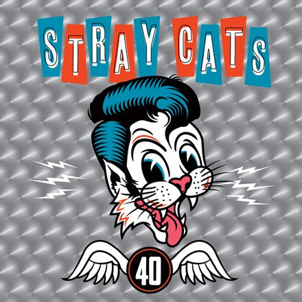 Stray Cats - 40 Vinyl LP (Backordered) - direct audio