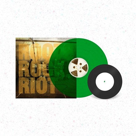 "Skindred - Roots Rock Riot Colored Vinyl LP + 7"" (Green)"