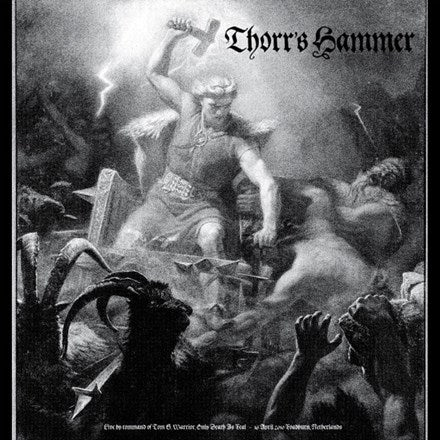 Thorr's Hammer - Live by Command of Tom G. Warrior Vinyl LP - direct audio