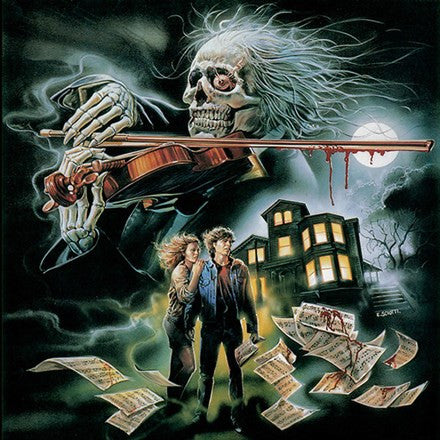 Vince Tempera - Paganini Horror: 1989 Original Soundtrack Limited Edition Colored Vinyl 2LP - direct audio
