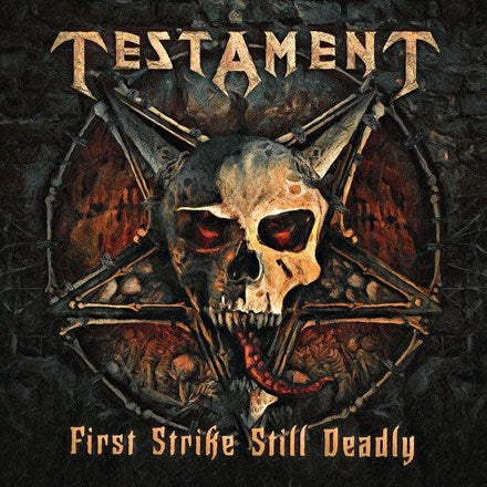 Testament - First Strike Still Deadly Vinyl 2LP - direct audio
