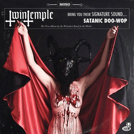 Twin Temple - Twin Temple (Bring You Their Signature Sound... Satanic Doo-Wop) Vinyl LP (Out Of Stock) - direct audio