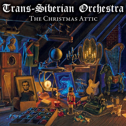 Trans-Siberian Orchestra The Christmas Attic: 20th Anniversary Edition Colored Vinyl 2LP