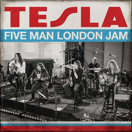 Tesla - Five Man London Jam Vinyl 2LP
