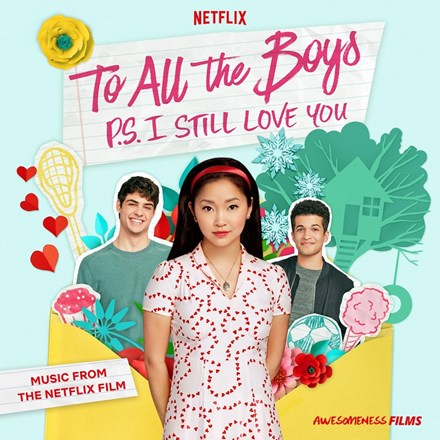 To All the Boys: P.S. I Still Love You: Soundtrack - Various Artists Colored Vinyl LP - direct audio