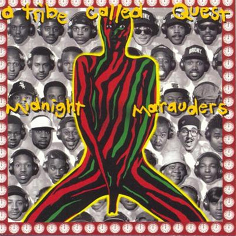 A Tribe Called Quest - Midnight Marauders on LP - direct audio