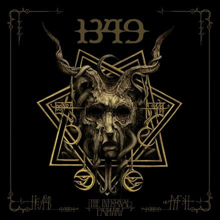 1349 - The Infernal Pathway 45RPM Vinyl 2LP - direct audio