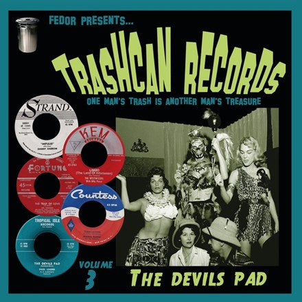 "Trashcan Records, Volume 3: The Devils Pad - Various Artists 10"" Vinyl EP - direct audio"