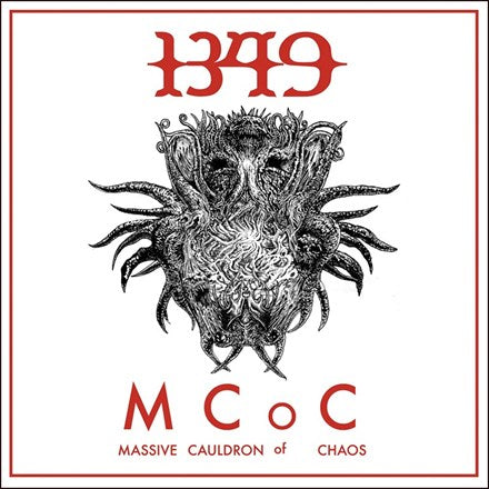 1349 - Massive Cauldron of Chaos Colored Vinyl LP - direct audio