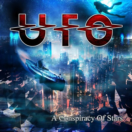 UFO - A Conspiracy of Stars 180g Colored Vinyl 2LP - direct audio