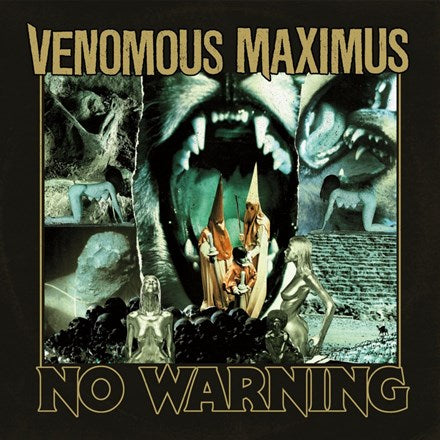 Venomous Maximus - No Warning Vinyl LP (Out Of Stock) - direct audio