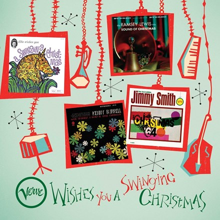 Verve Wishes You a Swinging Christmas - Various Artists Vinyl 4LP Box Set - direct audio