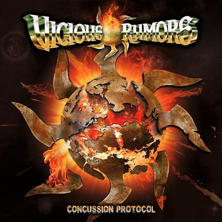 Vicious Rumors - Concussion Protocol Limited Edition Vinyl 2LP - direct audio