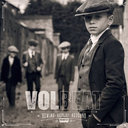Volbeat - Rewind, Replay, Rebound 180g Vinyl 2LP - direct audio