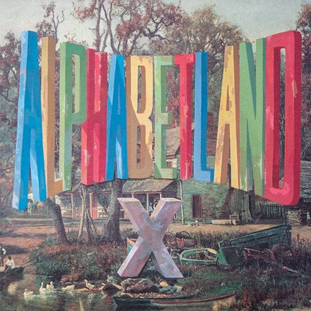 X - Alphabetland Vinyl LP - direct audio