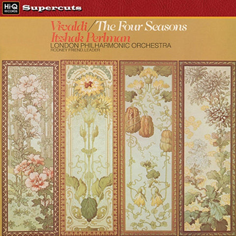 Vivaldi - The Four Seasons - Perlman - London Philharmonic Orchestra on 180g Import LP - direct audio