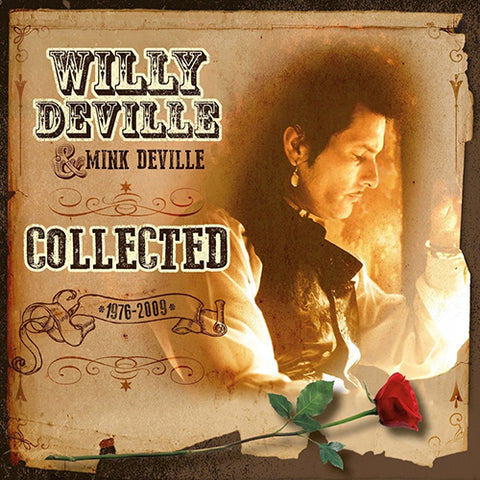 Willy Deville and Mink Deville Collected limited Edition Colored 180g Import Vinyl 2LP