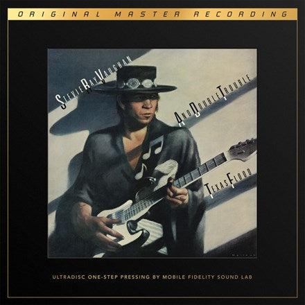 Stevie Ray Vaughan Texas Flood Limited Edition UltraDisc One-Step 45RPM Vinyl 2LP
