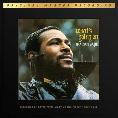 Marvin Gaye - What's Going On Limited Edition UltraDisc One-Step 45RPM Vinyl 2LP Box Set - direct audio