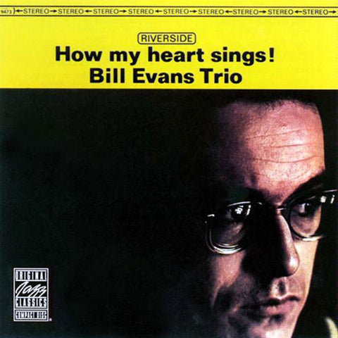 Bill Evans - How My Heart Sings on LP - direct audio