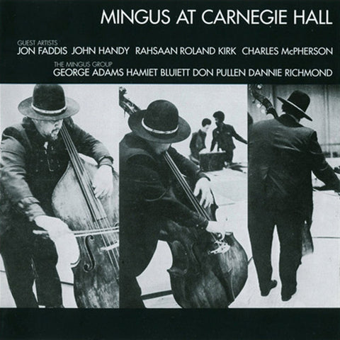 Charles Mingus - Live At Carnegie Hall on Numbered Limited Edition 180g 45RPM Vinyl 2LP TBA - direct audio