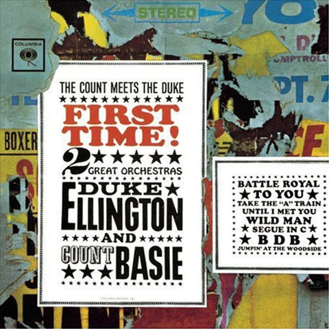 Duke Ellington And Count Basie - First Time!: Count Meets The Duke 180g Import Vinyl LP - direct audio