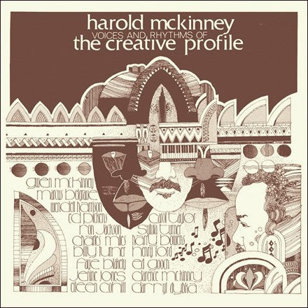Harold McKinney Voices and Rhythms Of The Creative Profile 180g Import Vinyl LP
