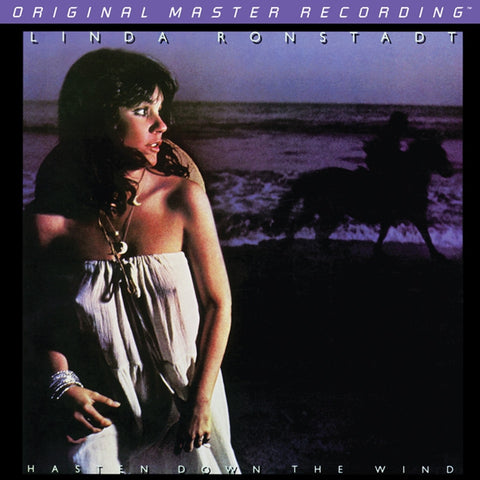 Linda Ronstadt - Hasten Down the Wind on Numbered Limited-Edition 180g LP from Mobile Fidelity - direct audio