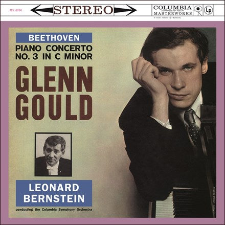 Beethoven Piano Concerto No. 3 - Bernstein - Glenn Gould - Columbia Sym Orc 180g Import Vinyl LP