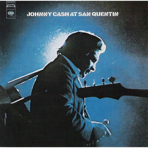 Johnny Cash - At San Quentin on Vinyl LP - direct audio