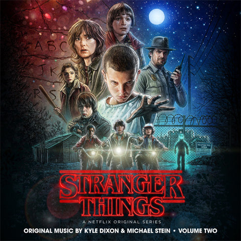 Kyle Dixon and Michael Stein - Stranger Things Volume 2 Soundtrack Colored Vinyl 2LP - direct audio