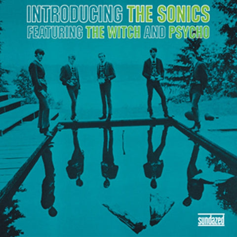 The Sonics - Introducing The Sonics Colored Vinyl LP - direct audio