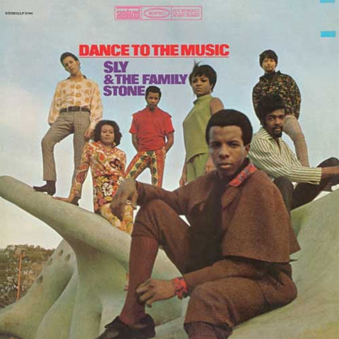 Sly and the Family Stone - Dance To The Music on LP - direct audio