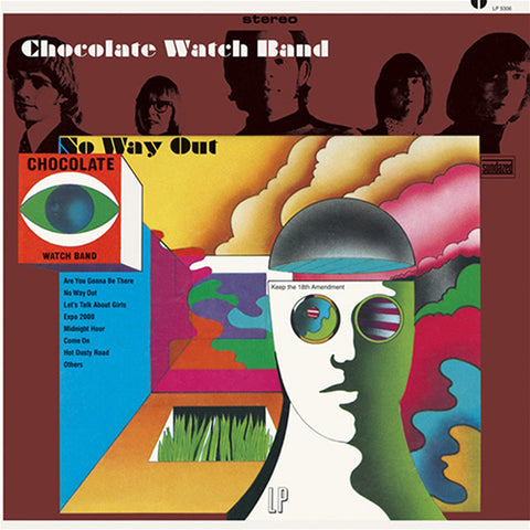 The Chocolate Watchband - No Way Out Colored Vinyl LP (Out Of Stock) - direct audio