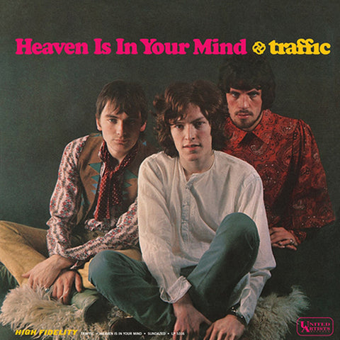 Traffic - Heaven Is In Your Mind/Mr. Fantasy Vinyl LP Mono - direct audio