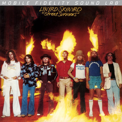Lynyrd Skynyrd - Street Survivors on Limited Edition LP from Mobile Fidelity Silver Series - direct audio