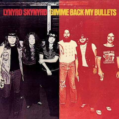 Lynyrd Skynyrd - Gimme Back My Bullets on Limited Edition 180g LP - direct audio
