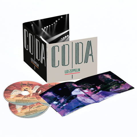 Led Zeppelin - Coda: Deluxe on 3CD - direct audio