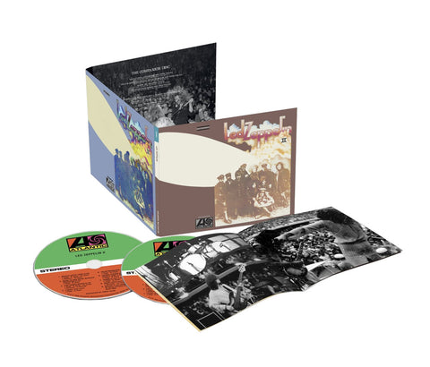 Led Zeppelin - Led Zeppelin II: Deluxe Edition on 2CD - direct audio
