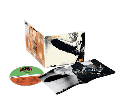 Led Zeppelin - Led Zeppelin I on CD - direct audio