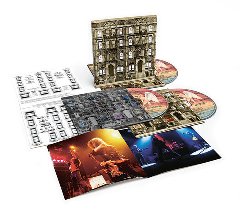 Led Zeppelin - Physical Graffiti: Deluxe Edition on 3CD - direct audio